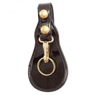 JOCEL/™ Leather 3 Zipper Pockets Wallet Coin Change Pouch Purse Bag with Key Ring