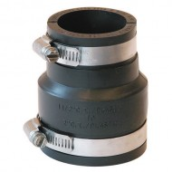 """1056-53 FERNCO Flexible Coupling,For Pipe Size 5/"""" x 3/"""""""